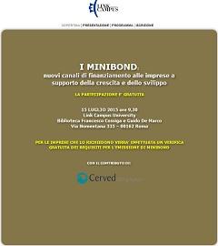 convegno minibond